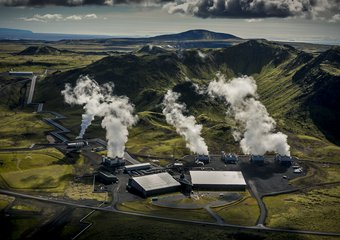 Hellisheidi Power Plant - Photo by Arni Saeberg.jpg